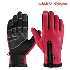 <b>RockBros</b> Winter <b>Cycling</b> Full Finger Fleece Thermal Windproof ...