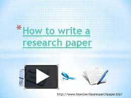 Powerpoint teaching research paper FILTm