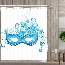 Anniutwo Masquerade Shower Curtain Collection by Venetian Style ...