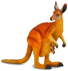 Фигурка <b>Collecta Красный кенгуру</b> 88302 — купить по выгодной ...