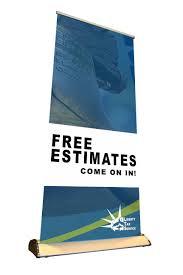 vinyl banner liberty tax service estimates