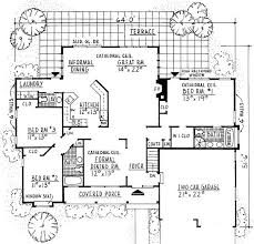 Bedroom House Plans Page square feet  bedrooms  ½ batrooms  parking space  on