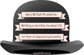 overcoming modesty when writing your own cv write your own cv derby 148046 12802