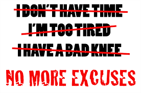 Image result for excuses excuses + image