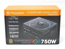 Тест и обзор: <b>Thermaltake Toughpower</b> Grand RGB 750W Gold ...