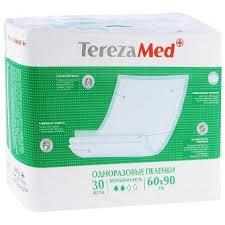 Пеленки <b>одноразовые Tereza Med</b> Normal Впитывающие ...