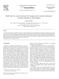 paper about bulk built in current sensors for single event  paper about bulk built in current sensors for single event transient detection in deep submicron technologies