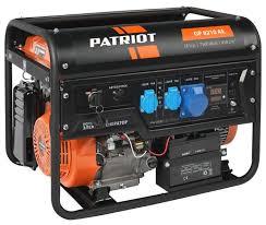 Купить <b>Бензиновый генератор PATRIOT GP</b> 8210AE (7000 Вт) по ...