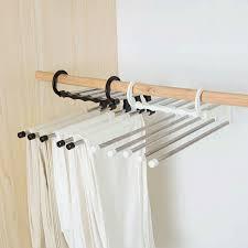<b>Multifunctional</b> Clothes Hanger Storage Pants <b>Cloth</b> Hangers ...