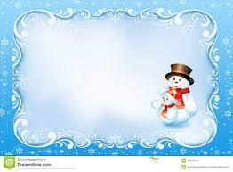 blue christmas card swirl frame and snowman royalty blue christmas card swirl frame and snowman
