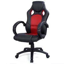 high back race car style bucket seat office desk chair gaming chair red new bucket seat desk chair