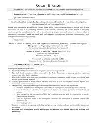 samples smartresume investigator investigator resume sample