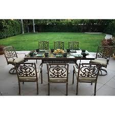 patio dining: darlee santa barbara stone patio dining set