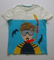 Jl Mini Boden Boys акула-молот аквалангист графическая ...
