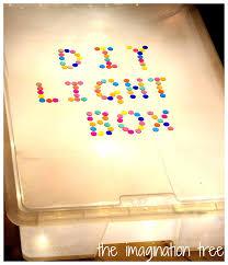 <b>DIY Light</b> Box for Sensory Play - The Imagination <b>Tree</b>
