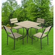 Набор садовой <b>мебели</b> Forest дерево: стол и <b>4</b> стула в Москве ...