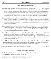 Daycare Resume  daycare resume smlf child care resume objective     Resume Example and Cover Letter