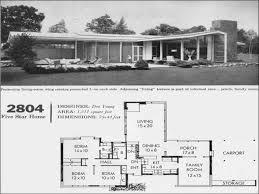 Mid Century Modern Furniture Mid Century Modern House Floor Plan