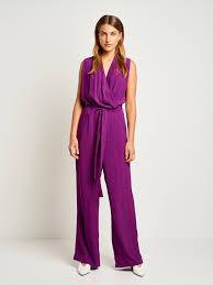 <b>Purple</b> Crepe Whitney N Jumpsuit - <b>SAND</b> Copenhagen