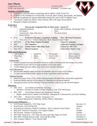 jose marin compositing resume compositing resume