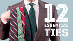 12 Ties Every Man Should Invest In - Essential & Best Men's <b>Neckties</b>