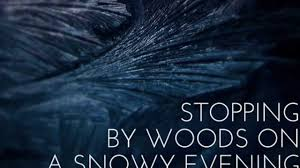 stopping by woods on a snowy evening stopping by woods on a snowy evening