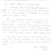thank you letter yr anniversary kay s entertainment to show my appreciation i wrote you all a letter xd click on image to enlarge thank you for your support