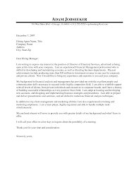 finance cover letter examples template finance cover letter examples