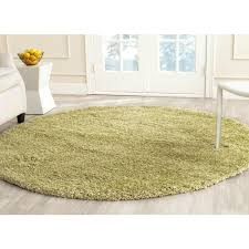 this review is fromcalifornia shag green 6 ft 7 in x 6 ft 7 in round area rug california shag black 4 ft