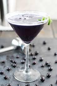 Martini Recipes Vodka Blueberry Purple Rain Martini 3 Yummy Tummies