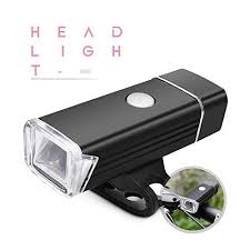 Bike Headlight USB Rechargeable <b>Bicycle Light</b>- <b>Aluminum Alloy</b> ...