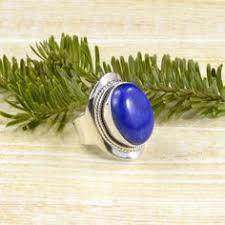 Roped Marquise <b>Lapis Lazuli</b> Ring // <b>Lapis Lazuli</b> Jewelry // Sterling ...