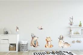 <b>BEAR TRIBAL WOODLAND Animal</b> Brave Vinyl Wall Sticker Decal ...