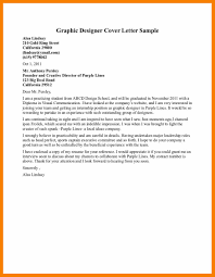 cover letter job letteres 8 cover letter sample for graphic designer