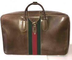 Immaculate <b>vintage</b> Gucci suitcase from the late 1970s. Authentic ...