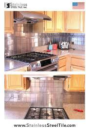 kitchen backsplash stainless steel tiles:  images about beautiful backslash ideas on pinterest metals modern kitchens and tile
