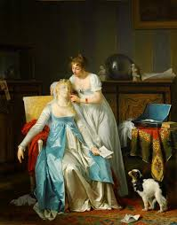 th century women artists ladiesbyladies la leccedilon de piano 1785 87 marguerite gerard la mauvaise nouvelle 1804 marguerite gerard