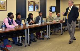 micc iers civilians mentor high school students during job photo details
