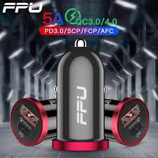 <b>FPU 30W Quick Charge</b> 4.0 3.0 USB Car Charger For Xiaomi Mi ...