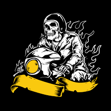 <b>Skeleton Motorcycle</b> Free Vector Art - (146 Free Downloads)