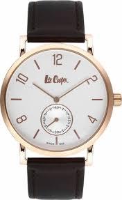 <b>Часы</b> наручные мужские <b>Lee Cooper</b>, цвет: черный. <b>LC</b>-38G-<b>E</b>