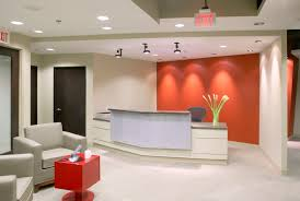 modern office interior design with elegant professional look outstanding receptionist space implemented light brown wall also architect gensler location san francisco california