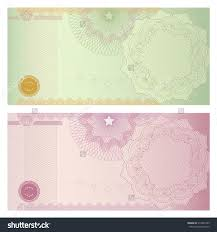 doc money note template gift certificate voucher coupon voucher gift certificate coupon ticket template stock illustration