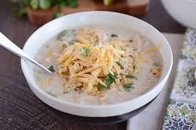 <b>Creamy White</b> Chicken Chili {Slow Cooker or Stovetop}