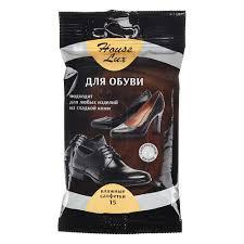 House Lux <b>Салфетки влажные для обуви</b> 15шт, купить недорого ...