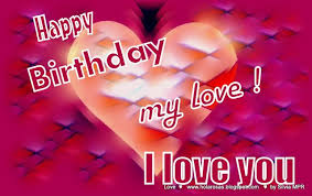 happy birthday i love you quotes for him | Romantics Greeting ... via Relatably.com