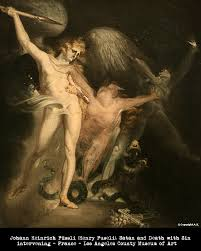 fuseli jpg the following is an essay from 2006 which i wrote for a class on paradise lost it is about sin and death from said epic poem by john milton