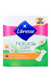 <b>Прокладки LIBRESSE</b> Natural care normal <b>гигиенические</b> ...
