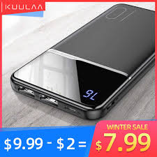 <b>KUULAA Power Bank</b> 20000mAh QC PD 3.0 PoverBank Fast ...