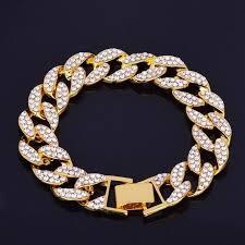 Men Quality <b>Gold Color Iced</b> Cuban Chain – Essential Shine